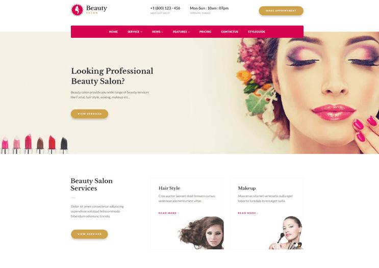 Thiết kế website thẩm mỹ viện tiết kiệm nhiều chi phí quảng cáo