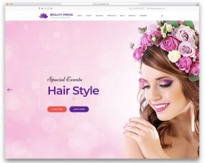 Beatypress - mẫu website spa hoàn hảo