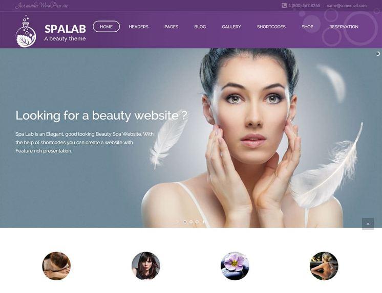 Top 10 mẫu website spa - thẩm mỹ viện đẹp nhất 2019