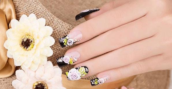 Khoá học làm đẹp online với hoa bột nail