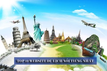 Top 10 website du lịch