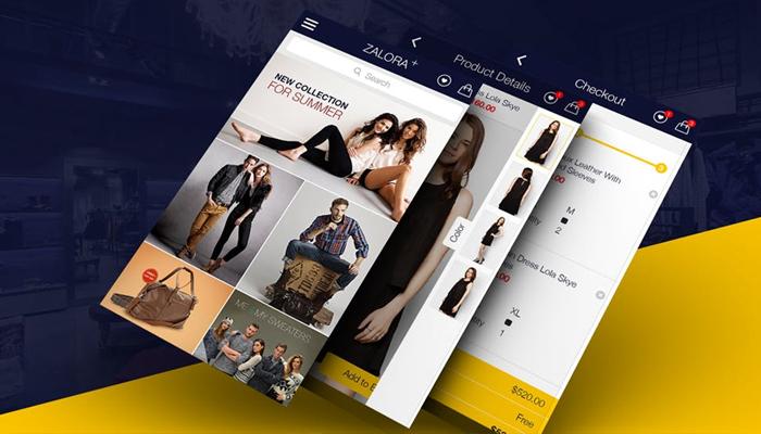 Phần mềm bán hàng online - ZALORA