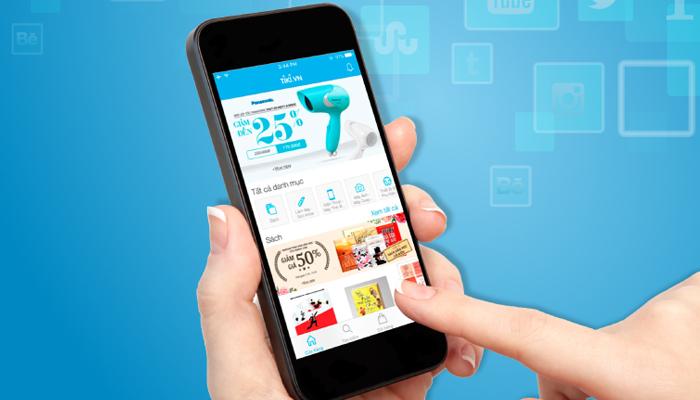 Ứng dụng bán hàng online - Tiki