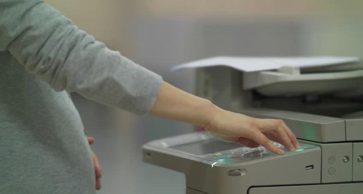 Lời khuyên cho phụ nữ mang thai sử dụng máy photocopy
