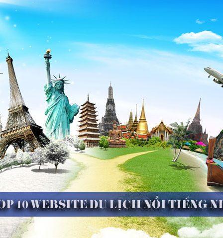 Top 10 website du lịch
