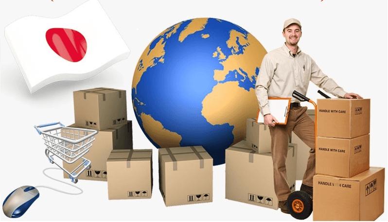 sản phẩm được vận chuyển từ Nhật Bản về Việt Nam